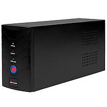 ИБП LogicPower LP 650VA, Lin.int., AVR, 2 x євро, метал