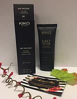 MAT MOUSSE FOUNDATION Тональная основа в виде мусса Kiko Milano 04 Light Beige