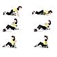 Тренажер для всього тіла Six Pack Care 6 в 1 силовий тренажер для м'язів всього тіла, фото 2