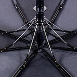 Двоколірні напівавтоматичні парасолі, фото 4