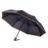 Двоколірні напівавтоматичні парасолі, фото 8