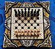 Шахматы-нарды-шашки 3 в 1, резьба по дереву, фото 6