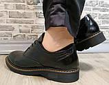 Туфли женские весна-осень из натуральной кожи от производителя модель НИ1237А, фото 6