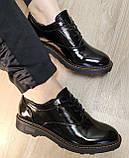 Туфли женские весна-осень из натуральной кожи от производителя модель НИ1237А, фото 7