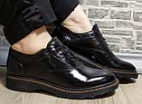 Туфли женские весна-осень из натуральной кожи от производителя модель НИ1237А, фото 4