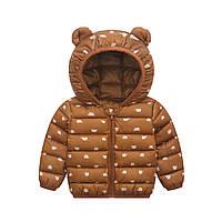 Куртка стеганная, размеры: 100, 110, 120
