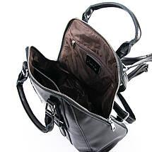 Сумка Женская Рюкзак кожа ALEX RAI 09-3 8778 black, фото 3