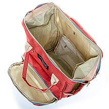 Сумка Женская Рюкзак нейлон Lanpad D900 orange, фото 2