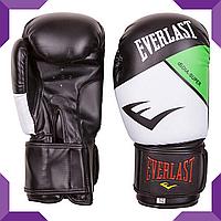 Боксерские перчатки Ever DX 12 oz,Бело-зелёный, фото 1