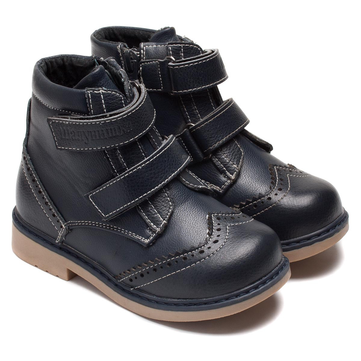 Демисезонные ботинки Шалунишка для мальчика, ортопедические, размер 26-31