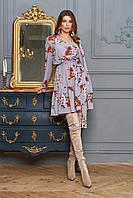 """Нежное короткое платье от Jadone Fashion """"Лолита"""" с цветочным принтом (2 расцветки, р.S-XL)"""