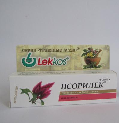 Крем от псориаза и дерматита Псорилек 15 г-антисептический, заживляющий комплекс