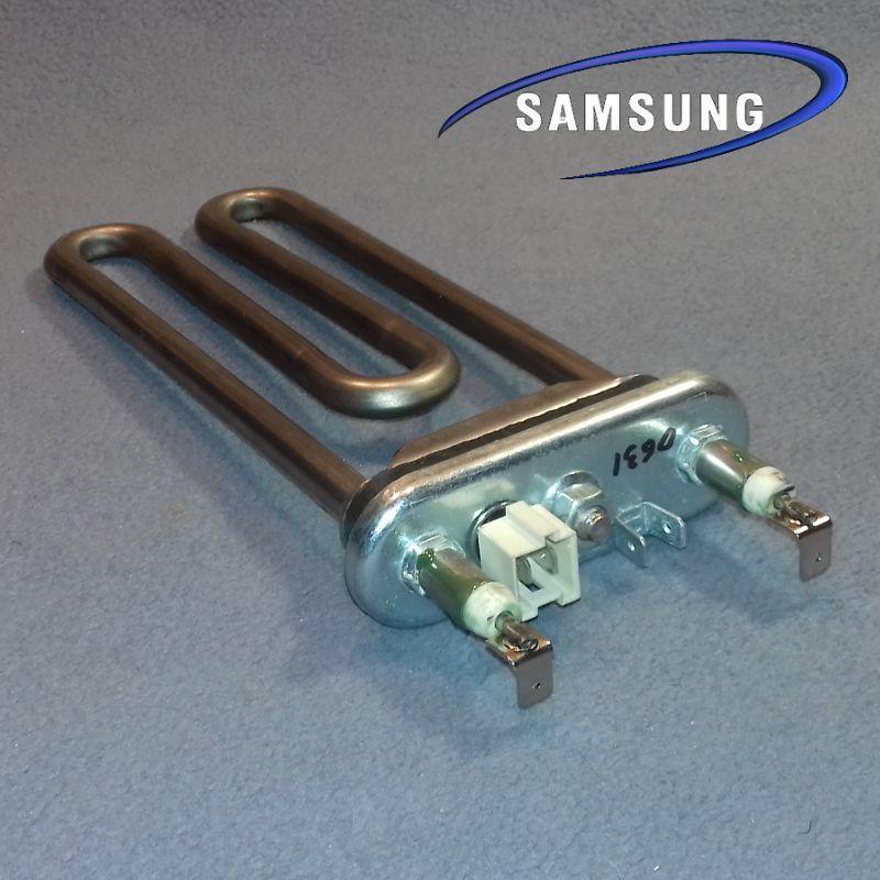 ТЭН 1900W / L=175мм (с датчиком; есть бурт) для стиральной машины Samsung