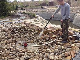 Чистка прудов, очистка водоемов, сезонный уход за прудом