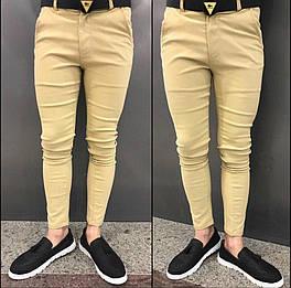 😜Брюки - мужские бежевые брюки