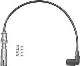 Высоковольтные провода комплект Audi A4 B6 2000-2004 (1.6)