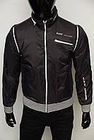 Куртка ветровка мужская Black Ciclone 011-1 черная