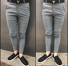 😜Брюки - мужские серые брюки под пальто
