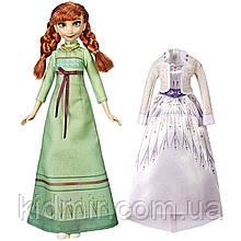 Дісней принцеса Анна Холодне серце з набором одягу Anna Frozen Hasbro Disney