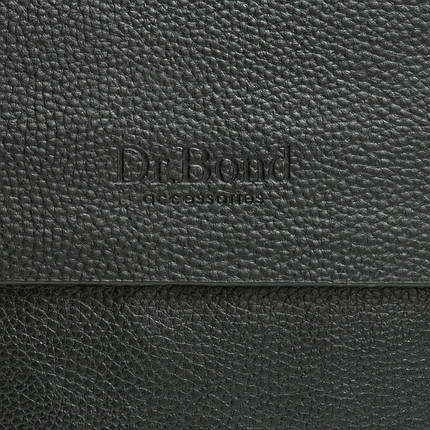 Сумка Мужская Планшет иск-кожа DR. BOND 314-4 black, фото 2