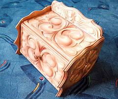 Хлебница из дерева резная, фото 2