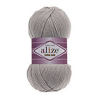 Пряжа Alize Cotton Gold 200 светло-серый