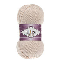 Пряжа Alize Cotton Gold 382 светлая пудра
