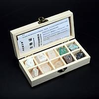 Набір мінералів за шкалою твердості Мооса, фото 1