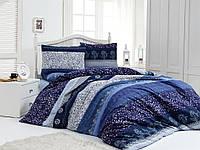 Постельное белье двуспальное евро LightHouse бязь голд NIGHT BLUE 8990_2.0LH