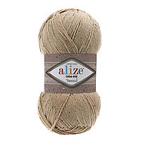 Пряжа Alize Cotton Gold Tweed 262 бежевый