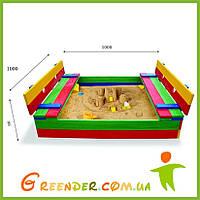 Песочницы для детей 29 100х100см