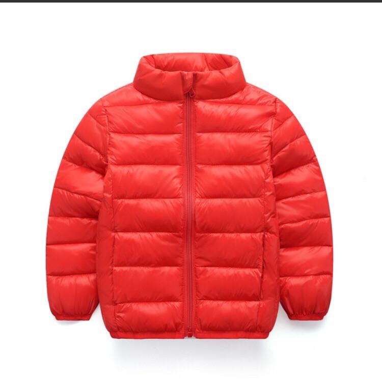 Куртка детская демисезонная на мальчика  весна-осень  красная 3-5 лет