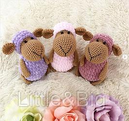 Детская погремушка - овечка