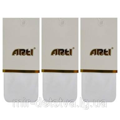 Белые капроновые колготки для девочек TM  Arti оптом, Турция р.3-4 (98-104 см) ост. 1 шт