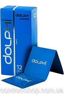 Презервативы Dolphi LUX NEW oсобо тонкие супетонкие  DELICATE #12 .Премиум класс.
