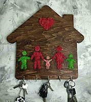 Ключница со СТАБИЛИЗИРОВАННОГО МХА. Оригинальный подарок. Декор для дома.