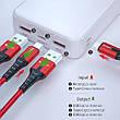 Зовнішній акумулятор Essager ES-D005 Surge Dual QC3.0 PD Power Bank 20000 mAh White (EDYPQ2-JL02), фото 4