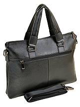 Сумка Мужская Портфель кожа BRETTON 603 black, фото 2