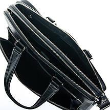 Сумка Мужская Портфель кожаный BRETTON 3627-1 black, фото 3