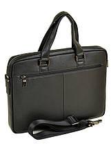 Сумка Мужская Портфель кожаный BRETTON BE 1603-1 black, фото 3