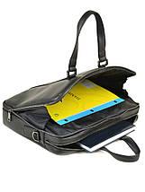 Сумка Мужская Портфель кожаный BRETTON BE 9318-2 black, фото 3