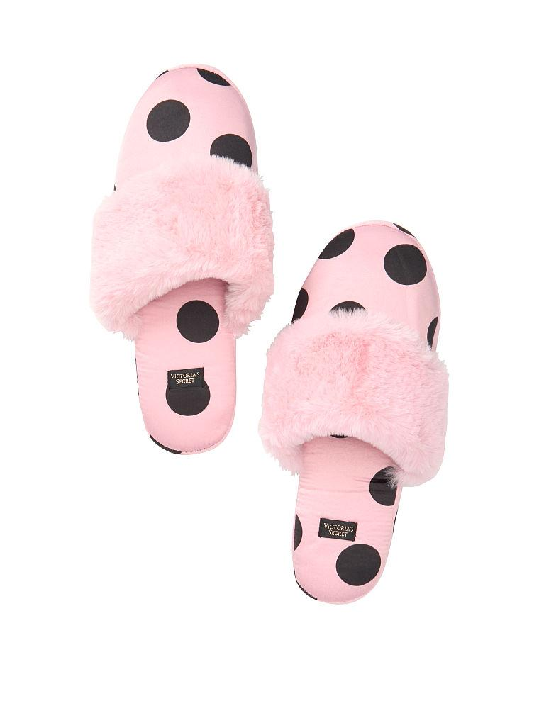 Тапочки Домашние Victoria's Secret Signature Satin Slippers