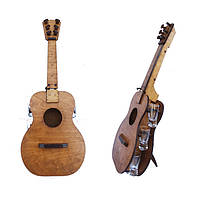 Мини-бар Гитара с рюмками   Бары для дома   Оригинальные подарки   Подставки под бутылки