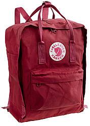 Шведский рюкзак Fjallraven Kanken™ Classic 16л, унисекс, разные цвета Бордовый