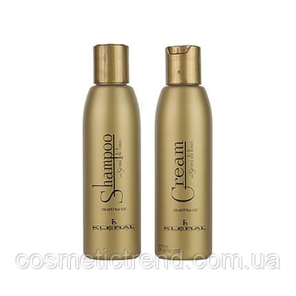 KLERAL SYSTEM Semi Di Lino Набор с маслом льна (шампунь 150 мл, маска 150 мл), фото 2