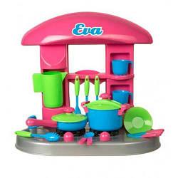 Кухня детская с посудкой, Kinder Way 04-406