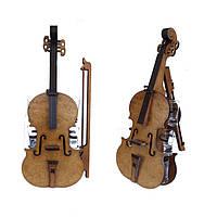 Мини-бар Скрипка с рюмками | Бары для дома | Оригинальные подарки | Подставки под бутылки