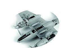 ПЕ-2. Сборная модель советского пикирующего бомбардировщика. 1/48 ZVEZDA 4809, фото 2