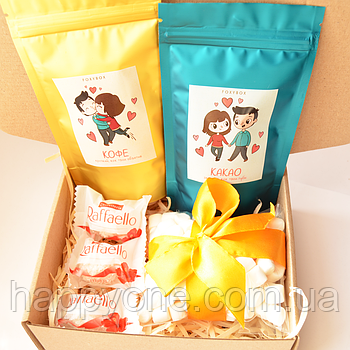 Подарочный набор LoveBox Blue&Yellow