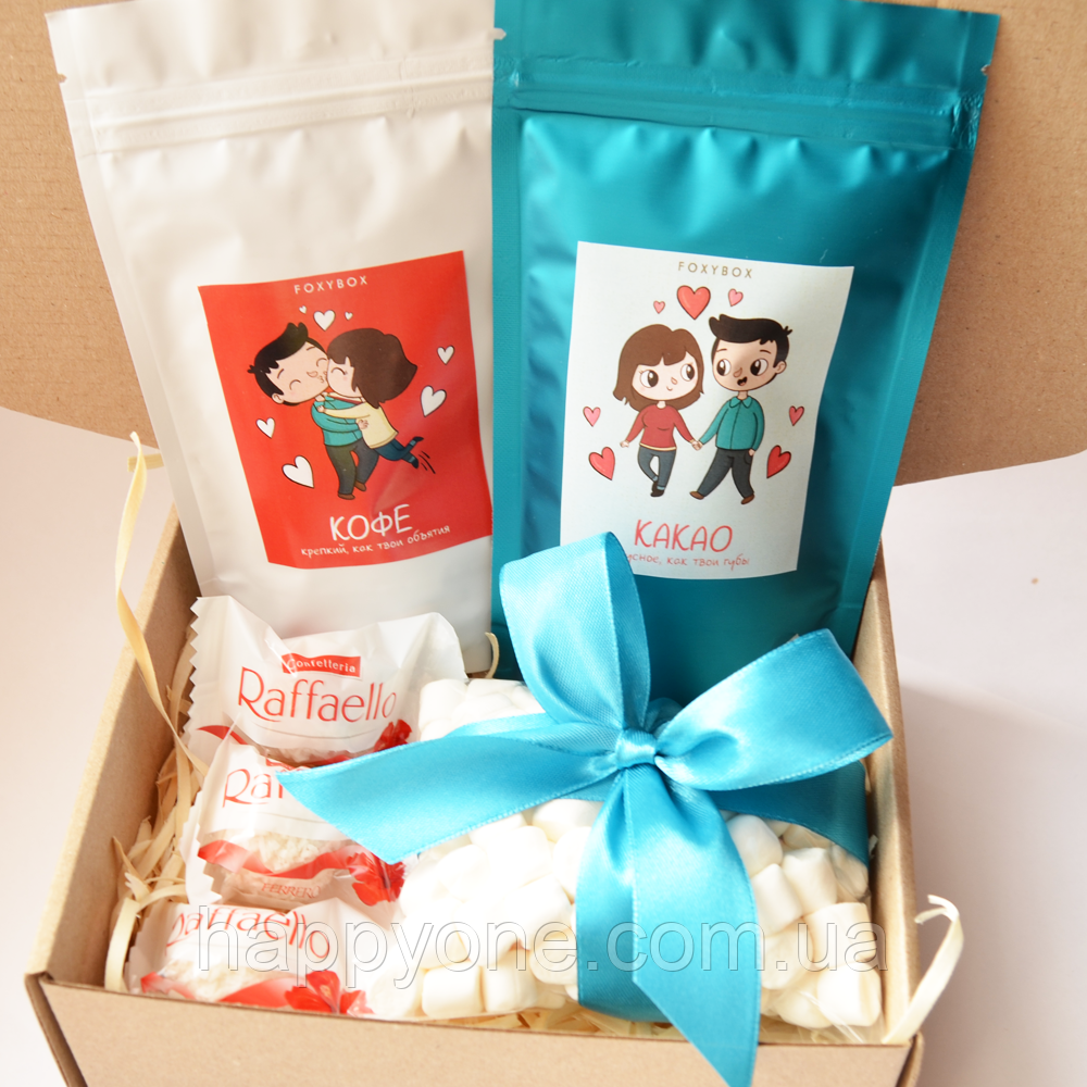 Подарочный набор LoveBox Blue&White